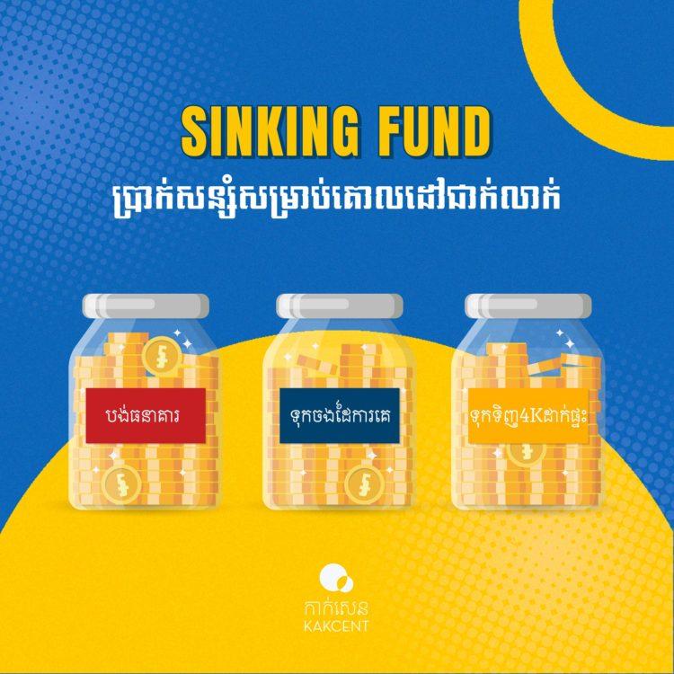 "Sinking Fund ""ប្រាក់សន្សំសម្រាប់គោលដៅជាក់លាក់"""