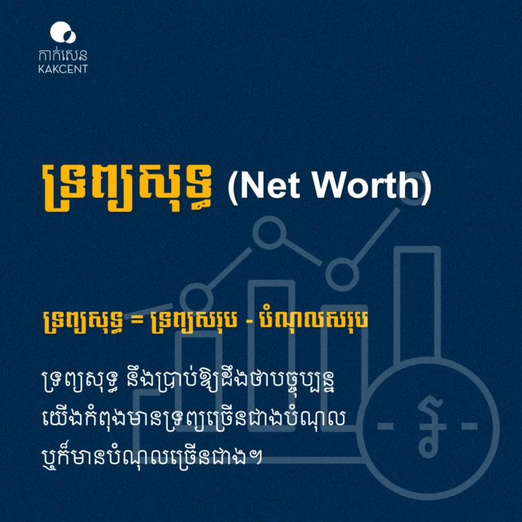 ទ្រព្យសុទ្ធ (Net Worth)