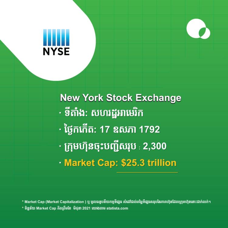 NYSE ឬ New York Stock Exchange